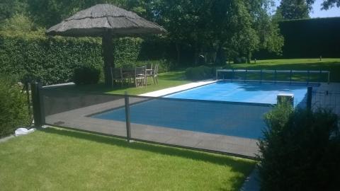veilig zwembad seguroll afscherming zwembad